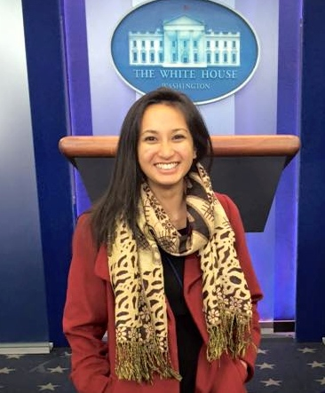 Katherine Pantangco in WH Press Rm